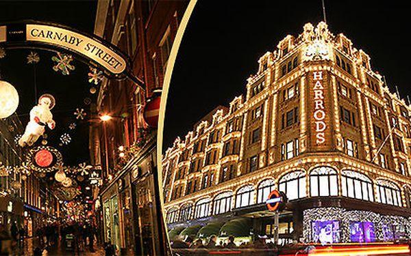 Last Minute Vánoční nákupy v Londýně v termínu 6.-8.12.2013