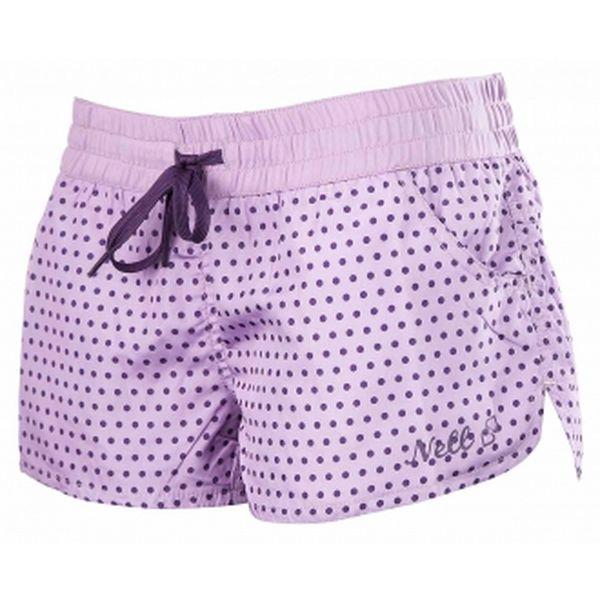 Dámské koupací šortky - Nell Dámské koupací šortky fialová
