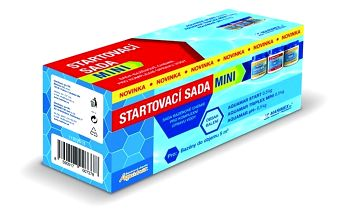 AQuaMar Startovací sada mini (Triplex mini 0,5 kg, Ph - 0,5 kg, Start 0,5 kg)