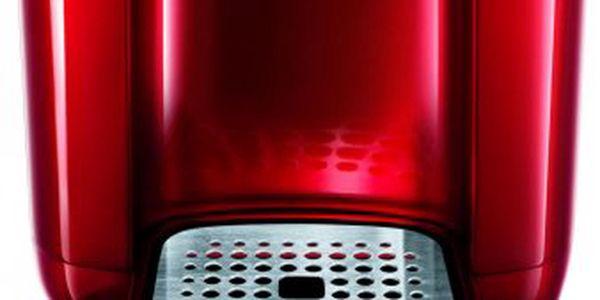 Nejmenší kapslový kávovar Tchibo Cafissimo Duo Hot Red