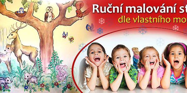 Splňte dětem jejich sen! Ruční malování na stěny dle vašeho přání