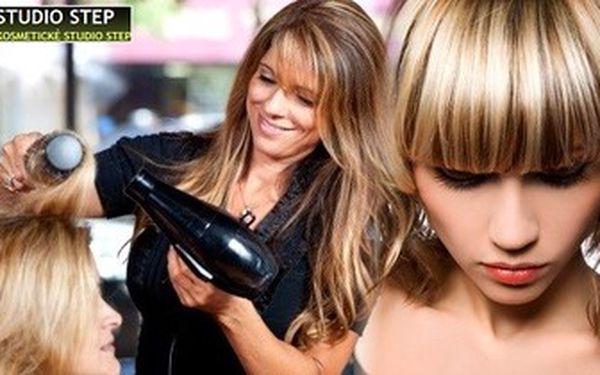 OMBRÉ HAIR nebo FRENCH CONTRAST pro všechny délky vlasů ve Studiu Step!