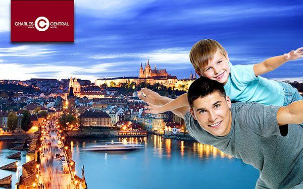 Romantický víkend v Praze pro DVA s polopenzí a kousek od centra