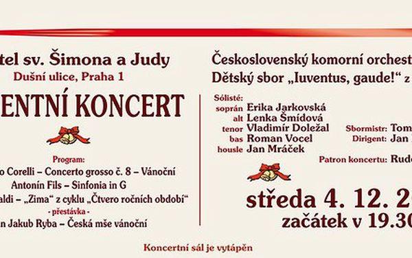 Adventní koncert v kostele sv. Šimona a Judy