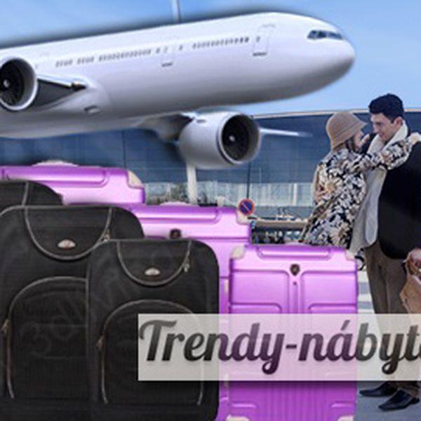 Sada kufrů nebo příručních zavazadel od 749 Kč! Poštovné v ceně!