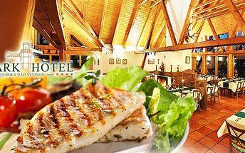 Rybí speciality pro dva v parkhotelu**** hluboká nad vltavou jen za 299 kč! 2x grilovaný candát podávaný s opečenými bramborami a česnekovým dipem nebo 2× pstruh grilovaný na másle se salátkem a bagetkou!