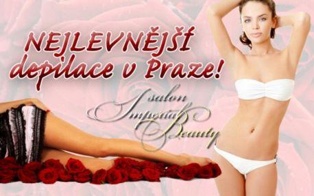 DEPILACE CUKROVOU PASTOU či TEPLÝM VOSKEM na partie které si sami vyberete v Salonu Imperial Beauty přímo v centru Prahy 1 na ul. Hybernská u metra Nám. Republiky!!!