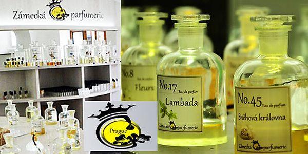 Namíchejte si vlastní 50 ml parfém - Alchymie vůní
