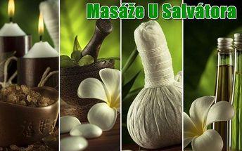 Partnerská aroma - relaxační masáž za 740 Kč!!!
