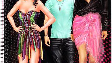 Omalovánky Top Model TOP Star