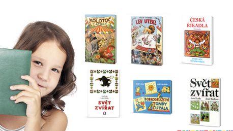 Krásné dětské knížky od 69 Kč! Vyzvednutí na každé pobočce Knihy Dobrovský!