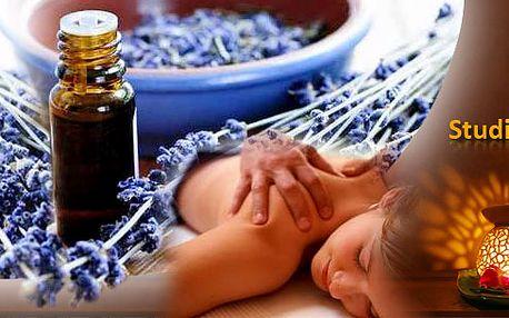 Relaxační Aroma masáž horkým 100% přírodním olejem! Příjemná 60 minutová masáž, při které si opravdu odpočinete!