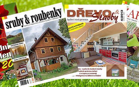 Předplatné magazínu Zahrada v obrazech a dalších titulů na rok 2014