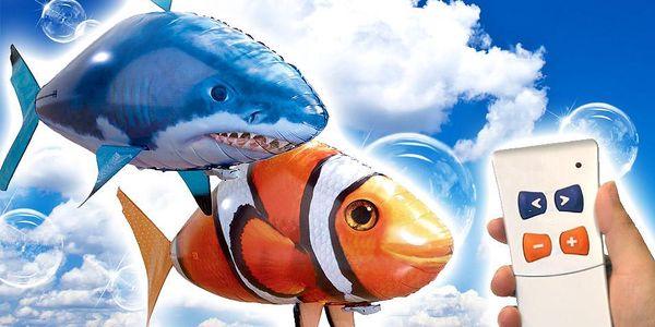 Létající ryba na dálkové ovládání