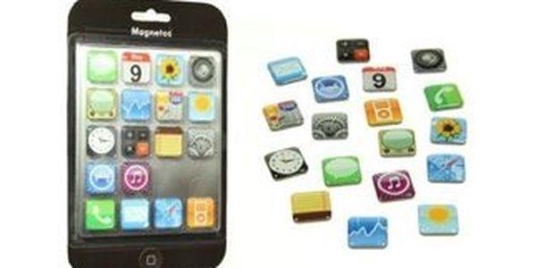 Máte rádi iPhony? Pořiďte si magnetky iMagnety ve tvaru ikonek jen za 199 Kč. Neskutečná sleva.