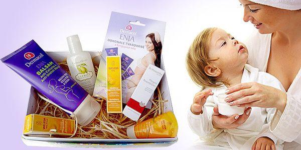 Kosmetický balíček pro maminku a miminko včetně poštovného