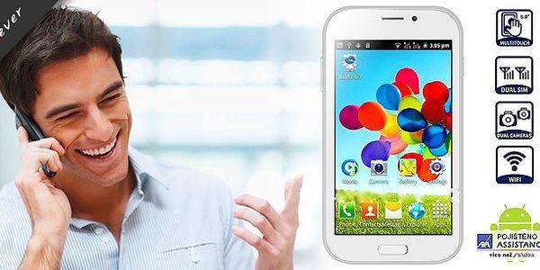 Kvalitní a stylový dotykový smartphone BML s Androidem a duální SIM. Ultratenký design, bílá barva, skvělá výbava a nadstandardní rozlišení displeje - to vše s neuvěřitelnou slevou!