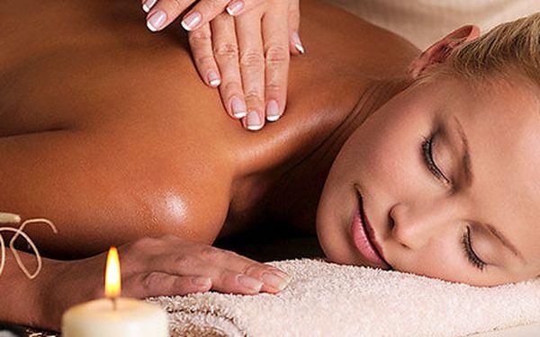 60 minut blahodárné masáže dle vašeho výběru