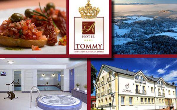 3980 Kč za gurmánský a wellness víkend PRO DVA v Adršpachu!