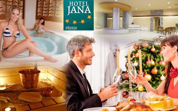 Sleva 60 % na Vánoční pobyt v Hotelu Jana****