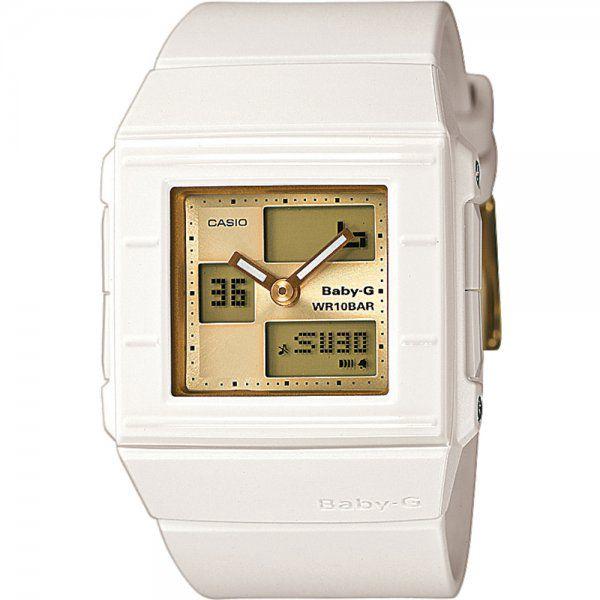 Casio BGA 200–7E4 z řady BABY-G jsou sportovně-elegantní dámské hodinky
