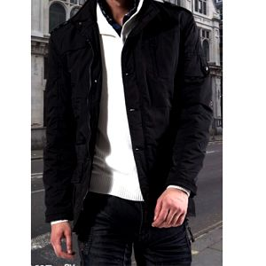 Pánská bunda ve stylu kabátu a poštovné ZDARMA! - 35506453