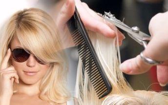 STŘIH, MELÍR a REGENERACE v salonu AfroDité pro VŠECHNY DÉLKY VLASŮ! Vlasová kosmetika zn. L'Oréal.