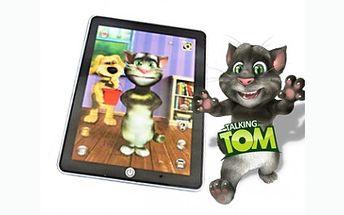 Báječný tablet TALKING TOM za skvělou cenu. Jedná se o interaktivní aplikaci se systémem Android. Mluvící kocour Tom opakuje svým vtipným hlasem vše, co mu řeknete a naučí tak děti správně vyslovovat a mluvit.