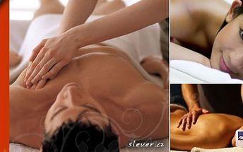 Užijte si s kamarádkou nebo přítelem 60 minutovou masáž 2v1 - Tradiční thajská masáž přímo v léčivých prostorách solné jeskyně - Praha, pro dvě osoby