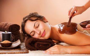 60minutová čokoládová terapie ve studiu Relax v Praze