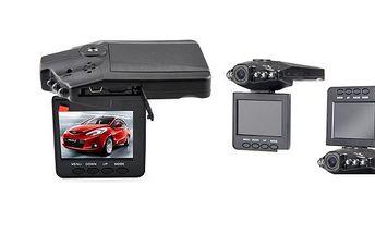 HD kamera CARCAM do auta s nočním viděním, senzor pohybu, funkcí automatického nahrávání a fotoaparátu včetně mikrofonu!