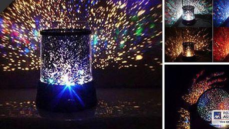 Lampa Star Master - noční obloha v pokojíčku, krásná barevná show a strhující podívaná přímo ve Vašem pokoji. Užijte si každý večer krásnou noční oblohu!
