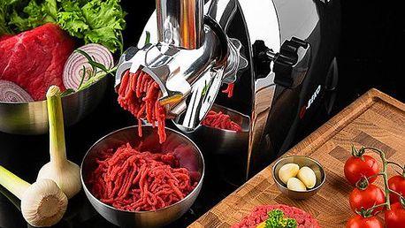 Multifunkční elektrický kuchyňský mlýnek na maso