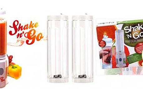"""Žijte zdravě! Rychlý a snadný MIXÉR Shake """"n"""" GO vám každé ráno připraví smoothie, koktejl nebo přesnídávku podle Vašich představ! Zdravé a BIO drinky je možné si brát vždy s sebou"""