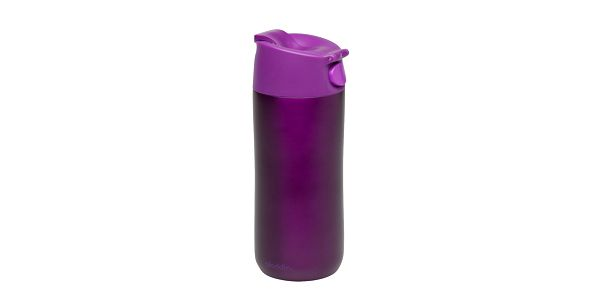 Nerez termohrnek Flip&Sip 0.35l, fialový