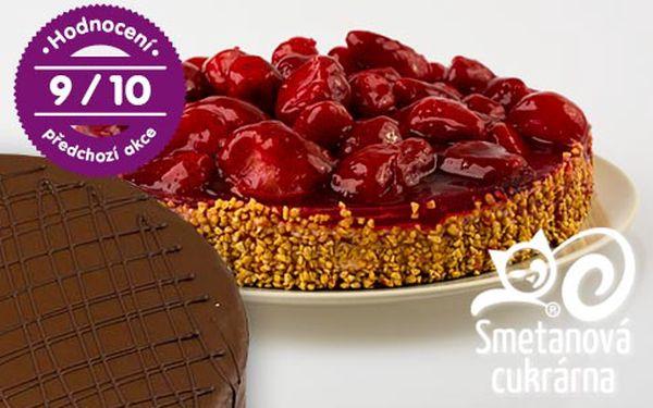 Čerstvé dorty ze Smetanové cukrárny – 4 druhy