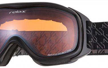 Lyžařské brýle Relax HTG37 s dvojitými polykarbonátovými čočkami