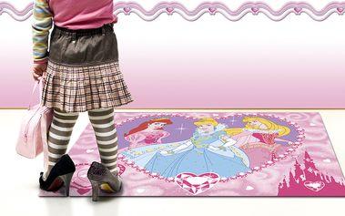 Dětský koberec Princess 95x133 cm pro všechny malé princezny