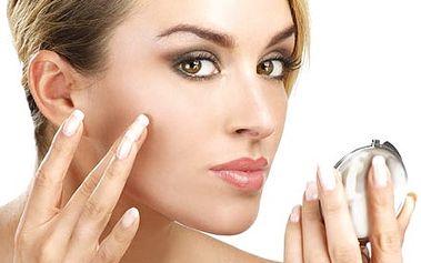 Kosmetické ošetření s placentární oční maskou se ž...
