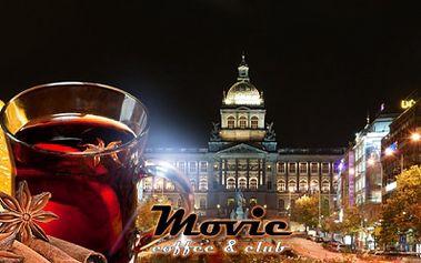 2x SVAŘÁK v centru Prahy jen za 48 Kč přímo u VÁCLAVSKÉHO NÁMĚSTÍ! Zpříjemněte si procházku Prahou a přijďte se zahřát na svařáček do kavárny MOVIE COFFEE & CLUB v originálním retro stylu! Vánoční sleva 47%!
