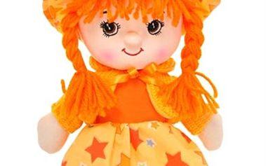 Panenka Liduška česky mluvící a zpívající oranžová