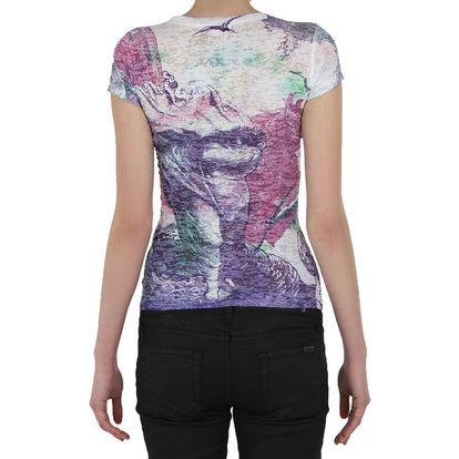 Pestrobarevné dámské tričko SOUTH POLE - skladem / vel. XS
