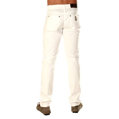 Pánské kalhoty Avirex / Eagle Comfort Gabardine - bílé - skladem / vel. 31