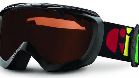Dětské lyžařské brýle Giro Chico Black Multi/AR40 zajistí spokojenost vašich nejmenších při lyžování