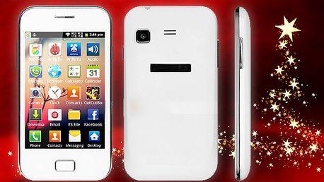 Dotykový smartphone s Androidem 4.1
