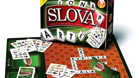 Známá společenská hra Slova od firmy Bonaparte