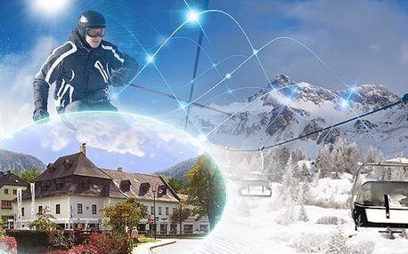 3 denní pobyt pro 2 v Alpském penzionu za 2399 Kč!