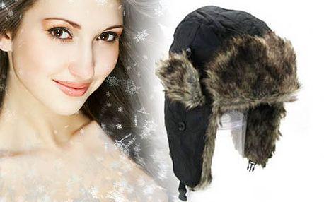 Zimná čiapka - ušianka