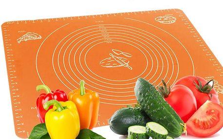 Praktická silikonová kuchyňská deska na pečení a vaření