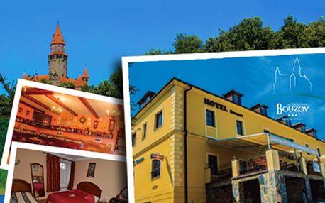 Pobyt pro DVA v Hotelu Bouzov od 1199 Kč! Luxusní odpočinek přímo pod hradem Bouzov!